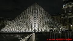 Paris by night - Musee du Louvre et Pyramide (soyouz) Tags: fra france geo:lat=4886143275 geo:lon=233566225 geotagged îledefrance paris01 paris04ancienquartierlouvre nuit museedulouvre pyramidedulouvre paris1er 75paris francela fr