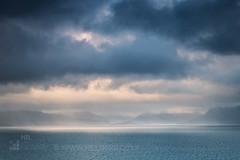 Loch Nevis (GenerationX) Tags: aird arisaig backofkeppoch barr beoraidbeg bunacaimb camusdarach canon6d glenancross highlands keppoch knoydart lochnanceall mallaig morar neil pointofsleat portnaluchaig scotland scottish sleat soundofsleat tormore blue bluehour clouds dusk evening landscape mountains sea seascape silversands sky snow sunset water ardvasar unitedkingdom gb