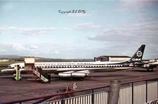 Douglas DC8-63F N864F Overseas National Airways