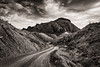 Terlingua Desert Road (James Duckworth) Tags: jamesduckworthphotography terlingua badlands blackandwhite clouds descrt fineartphotography landscape monochrome nobody road sky wandering