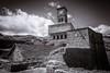 The Clock Tower (judepics) Tags: blackwhite albania gjirokaster ll monochrome clocktower castle