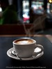 Steaming Soy Latte (Bitter-Sweet-) Tags: seattle washington travel outdoors outside city food drink beverage coffee vegan dairyfree nondairy latte art shop cafe