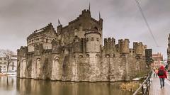 Gante (Belgica) (Fotoencuadre Miguel Alvarez) Tags: gante castillo flandes belgica medieval ciudad europa brujas bruselas canales iglesias catedral benelux