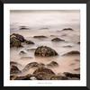 Rocky Shore (Ken Walker Photography) Tags: seaweed subtle beach water shoreline subdued seascape ethereal longexposure misty rocks