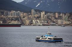 Seabus (Clayton Perry Photoworks) Tags: vancouver bc canada explorebc explorecanada translink northvancouver skyline seabus boat