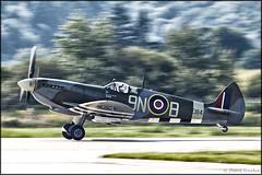 Supermarine Spitfire Mk.XVIE (Pavel Vanka) Tags: supermarine spitfire mkxvie siaf 2017 sliac lzsl airshow slovakia plane airplane aircraft spotting spotter fighter fly flying warbird ww2