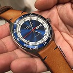Minimalist 2010 on Hamilton, price for: $99,99 (999 rb) without buckle How to order this strap? 1. Capture this photo (or just contact me directly, both ways are okay) . 2. Tell me about your watch and lets discuss furthermore to figure out which style su thumbnail