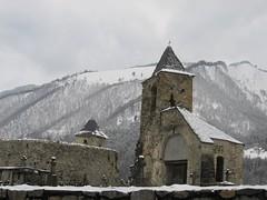 Le Trein d'Ustou (Ariège) (PierreG_09) Tags: ariège pyrénées pirineos couserans guzet ustou village clocher église chapelle neige