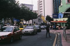 Crossroad (Haziq De Souza) Tags: praktica mtl 50 fujifilm superia 200 helios 44m cars people street kuala lumpur malaysia film analog photo assignment city life