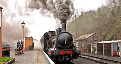 SEVERN VALLEY SPRING GALA (chris .p) Tags: steam severnvalleyrailway bewdley nikon d610 train gala march 2018 smoke station capture spring uk england