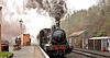SEVERN VALLEY SPRING GALA (chris .p) Tags: steam severnvalleyrailway bewdley nikon d610 train gala march 2018 smoke station capture spring uk england