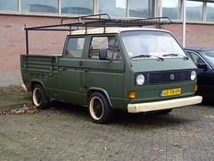 1980 Volkswagen Transporter T3 Pritsche (Skitmeister) Tags: carspot netherlands nederland skitmeister 65tb09
