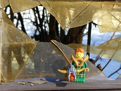 Das war schon so! (captain_joe) Tags: toy spielzeug 365toyproject lego minifigure minifig scherben