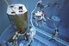Neutral Buoyancy Simulator, Solar Max Testing (NASA on The Commons) Tags: solarmax msfc neutralbouyancysimulator eva spacewalk