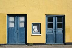 Sweedish colours in Denmark (Jaedde & Sis) Tags: door window yellow blue two ærøskøbing unanimous challengefactorywinner thechallengefactory friendlychallenges challengegamewinner challengeyouwinner 15challengeswinner