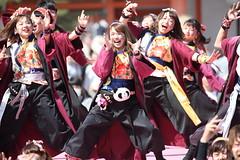 Enjoy dancing (Teruhide Tomori) Tags: 京都さくらよさこい 京都 日本 ダンス 衣装 踊り kyoto japan dance festival event performance japon yosakoi costume 祭 イベント