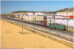 TECo en Santovenia (440_502) Tags: 601 bitrac carbón carbonero comsa rail transport vicálvaro duero del canal bifurcación bif clasificación león