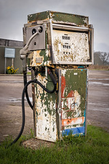 Pump (Jez22) Tags: pump petrol fuel gas oil gasoline petroleum benzine isolated equipment nozzle vintage old retro nostalgic rusty copyright jeremysage england