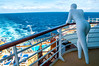 Observing (Tony Shertila) Tags: atlantic cruise deck europe people sculpture seaship sunbathing transport vacation
