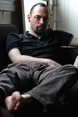 Jean-Marie # 16 (just.Luc) Tags: man male homme hombre uomo mann parijs parigi paris france frankrijk frankreich francia frança baard barbe barba bart beard goatee portret portrait ritratto retrato porträt face gezicht visage gesicht