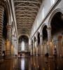 Duomo Orvieto Interior 1 (█ Slices of Light █▀ ▀ ▀) Tags: nave pillar columns apse travertine basalt interior duomo orvieto 奥尔维耶托 主教座堂 cathedral 座堂 church catholic italia 意大利 italy olympus em1 arcsoft panorama maker stitched