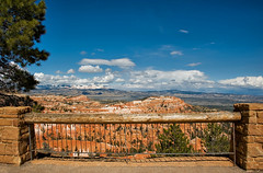 View from the balcony (Ezzy*) Tags: brycecanyon park utah nature landscape rocks balcony