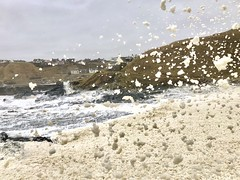 Collieston Bay - Aberdeen Scotland - 16/3/2018 (DanoAberdeen) Tags: iphone iphoneography cameraphone spume seafroth whitewater northsea scotland spring summer scottish skottland weather scenery scottishweather 2018 autumn aberdeen aberdeenscotland abdn harbour bay beastfromtheeast candid caledonia clouds amateur amazing nature natural preservation conservation savetheplanet saveearth savetheearth wasser bonnyscotland bonnie seascape seashore coastline coast froth highlands wow tranquil peaceful collieston danoaberdeen geotagged