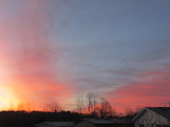 St. Patrick's day (creed_400) Tags: belmont west michigan march winter sunrise dawn blue sky clouds