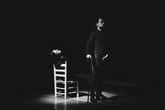 Lluvia amarga sobre el Edén. Bitter rain above Eden (Fernando Alcáuzar) Tags: teatro theatre pabellon6 blackwhite blanconegro