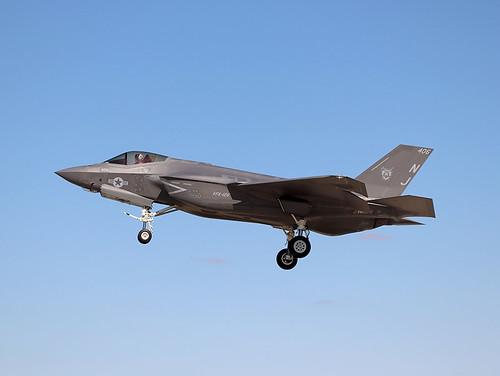 F-35C Lightening II 169160 of VFA-125 NJ-406