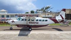Tropic Air Cessna 208 Grand Caravan (Norman Graf) Tags: belize sanpedro 208bgrandcaravan centralamerica aircraft airplane cessna v3hgv tropicair ambergriscaye airline plane