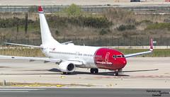 737 EI-FJP Norwegian (Dawlad Ast) Tags: aeropuerto internacional el prat barcelona lebl cataluña catalunya españa spain marzo 2018 march avion plane airplane aircraft spotting boeing 7378jp eifjp norwegian air international sn 42077 b737 b738 737 737800