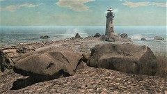 The Cruel Sea (ᗷOOᑎᕮ ᗷᒪᗩᑎᑕO) Tags: sl secondlife minnieatlass design landscape scenic sea rocks lighthouse cliffs beach florence bay sky bones clouds birds wildlife nature natural beauty simdesign homestead full region tp flickr teleport