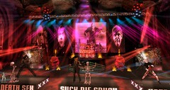 Rob Zombie 15-April-2018 @ Bloody Misery (TRC, Live Tribute Band in Second Life®) Tags: music heavymetal secondlife sl american frankenstein dracula horror gingerfish john5 piggyd robzombie live 1965 65 thunderrock concert dead girl superstar the lords salem pussy liquor foxy monster