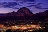 Twilight's embrace (Jersey JJ) Tags: twilights embrace sedona az arizona dusk blue hour artificial lights airport mesa overlook