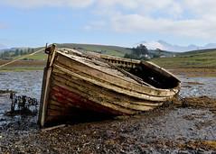 Tides Reach.. (Harleynik Rides Again.) Tags: isleofskye traditionalwoodenboat shipwreck wreck oldwoodenboat tide loch westernisles westcoast scotland nikondf harleynikridesagain