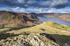 Vantage Point.. (CamraMan.) Tags: hallinfell snow helvellyn lakedistrict cumbria ullswater mountains rugged clouds sky canon canon1740mmlusm light ©davidliddle ©camraman
