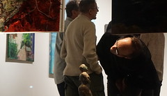 Art Show Viewer (Fojo1) Tags: candidandstreetphotography peoplephotography