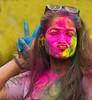 Holi Nepali kisses (trying to catch up again !!!) Tags: holi holifestival holikathmandu 2018 kathmandu nepal nepali nepaligirl colourful colorful kisses bigkiss lovely anisha