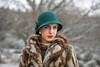 AmberM- 1920s Winter Portrait - (T.J. Photography) Tags: winter 1920s portrait hat