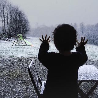 My first snow