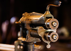 The Shaper of Things to Come (Prestidigitizer) Tags: burnabyvillagemuseum objects vancouver sheetmetal tinsmith antique old machine mechanical workshop pentaxk3 pentaxda50135mm