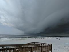 Fort Walton Beach, Florida (fisherbray) Tags: fisherbray usa unitedstates florida okaloosacounty fortwaltonbeach ftwaltonbeach fwb emeraldcoast gulfofmexico water wasser beach thunderstorm storm google pixel2