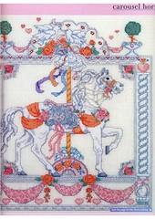 Wedding Carousel Horse Cross Stitch (websitedesigningplus) Tags: wedding carousel horse