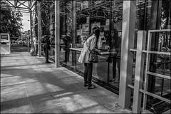 0A7_DSC2089 (dmitryzhkov) Tags: moscow documentary street life russia human monochrome reportage social public urban city photojournalism streetphotography people bw sunlight sunshine dmitryryzhkov blackandwhite everyday candid stranger pretty woman reflection glass scene scenesoflife shadows lights vendor trade