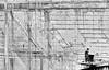 concrete wall (heinzkren) Tags: beton schwarzweis blackandwhite monochrome construction lines mauer linien sw bw canon powershot street streetphotography technology bau bauwerk building pattern muster texture architektur architecture gallery galerie niederösterreich krems stein wachau