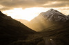 Road To The Alps (Russell-Davies) Tags: mountain sunset light snow glow cloud track scotland uk highlands canon 6dmkii arrochar beinnanlochain argyll corbett nationalpark hiking glenkinglas