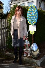 Fränkische Ostertraditionen / Frankonian Easter Traditions: Gutzberg (Saskia U.) Tags: tgirl crossdresser draussen outdoor ostern easter
