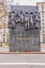 The Woman of World War II (Tony Howsham) Tags: military ww2 war world women city london westminster 18250 sigma 70d eos canon