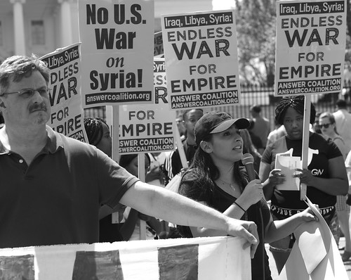 Protesting The U.S. War On Syria 1